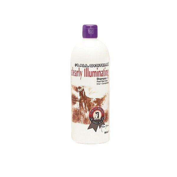#1 All Systems Clearly Illuminating Shampoo, 500 ml - maigi attīrošs šampūns, kas atjauno spalvas krāsu
