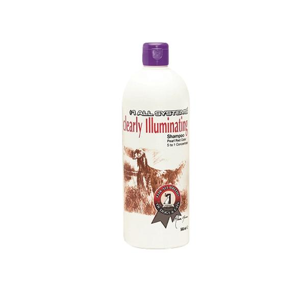 #1 All Systems Clearly Illuminating Shampoo, 500 ml - нежный очищающий шампунь, оживляющий цвет шерсти