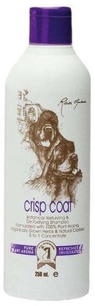 #1 All Systems Crisp Coat Shampoo, 250 ml - шампунь для собак и кошек для текстурирования и упругости шерсти