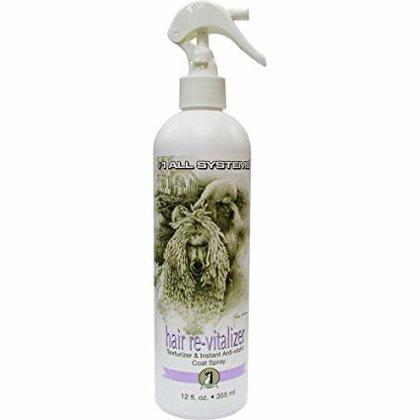 #1 All Systems Hair Revitalizer & Instant Anti-Static Spray, 355 ml - statiskas elektrības momentānai noņemšanai, kondicionē, piešķir tekstūru