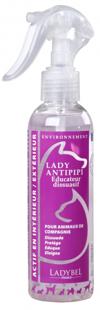 Ladybel Lady Antipipi, 200 ml - отпугивающий спрей для отучения животных метить
