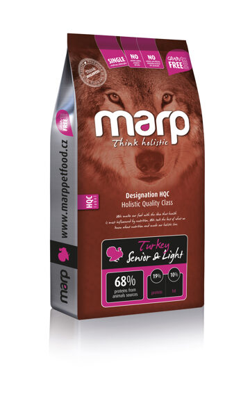Marp Think Holistic Turkey Senior & Light - Tītars, 12 kg