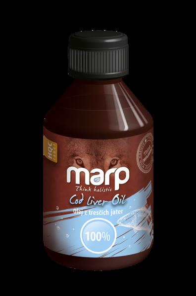 MARP Think Holistic Cod Liver Oil, 250 ml - mencu aknu eļļa