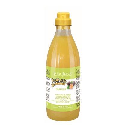Iv San Bernard Maracuja Shampoo, 1000 ml - regenerating protein shampoo for long coat