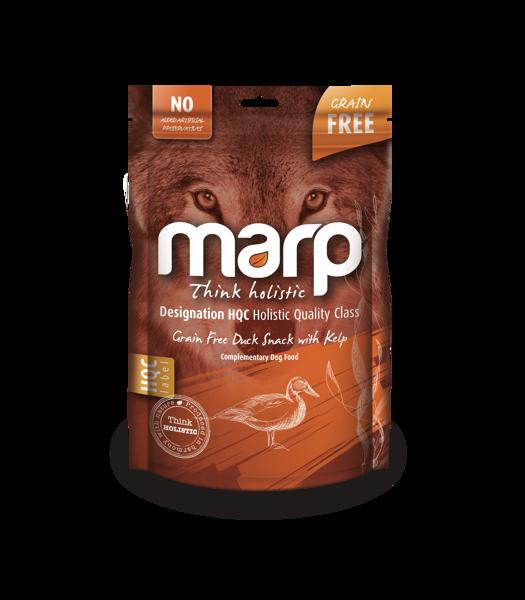 Marp Think Holistic Grain Free Duck Snack with Kelp - pīle ar brūnaļģēm, 150g