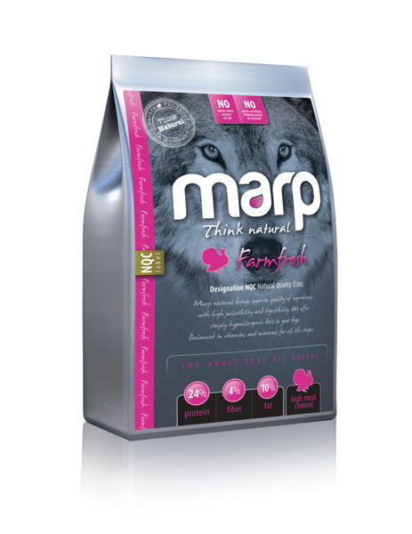 Marp Think Natural Farmfresh - Tītars, 12 kg