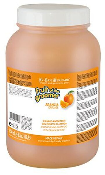 Iv San Bernard Orange Shampoo, 3250 ml - stiprinošs, antistresa šampūns. Normalizē tauku dziedzeru darbību