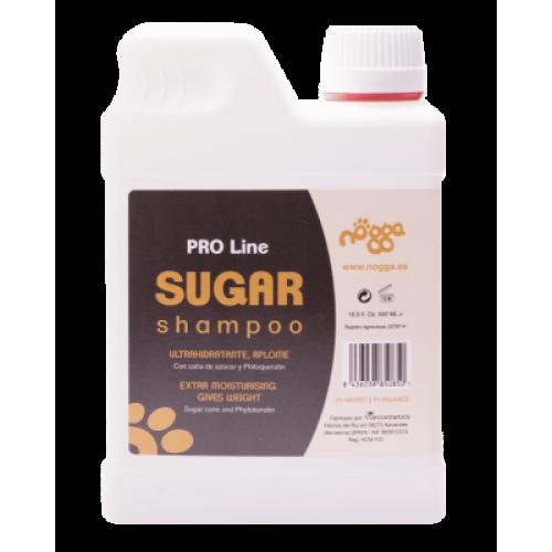 Nogga PRO Line Sugar Shampoo, 500 ml - dziļi mitrinošs šampūns garspalvainajiem suņiem