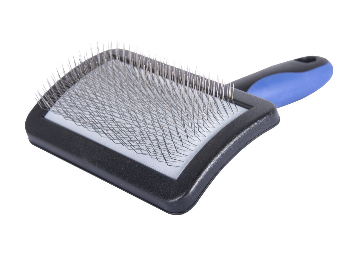 Show Tech Universal Soft Slicker Brush For Dogs MEDIUM - vidējā