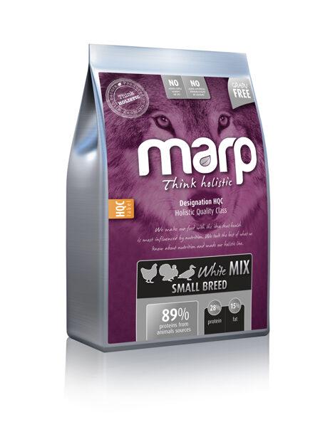Marp Think Holistic White Mix Small Breed - Vista, Tītars, Pīle, 2 kg