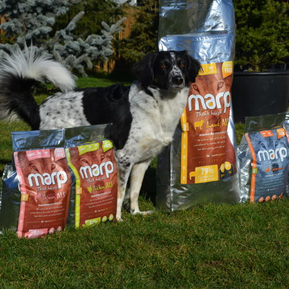 Marp Pet Food for all dog breeds
