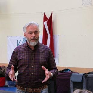 "Seminar with Gerard O`Shea ""Dog Management and Handling"" in Riga - 18-19.06.2016"