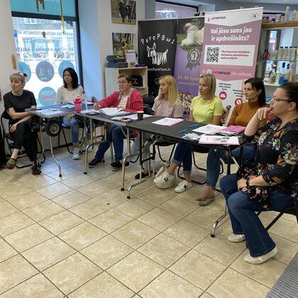 Kaķu salona gruminga seminārs. Septembris 2020
